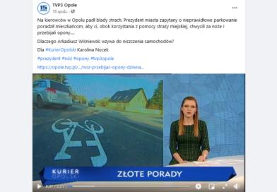 TVP Regionalna w niewybredny sposób atakuje prezydenta Opola