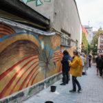 Przy Wzgórzu Uniwersyteckim powstaje niesamowity fresk
